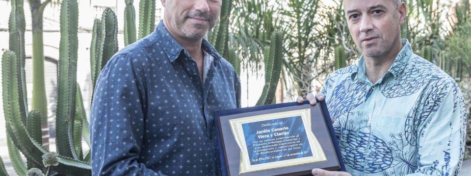 El CSIC reconoce el trabajo del Jardín Canario