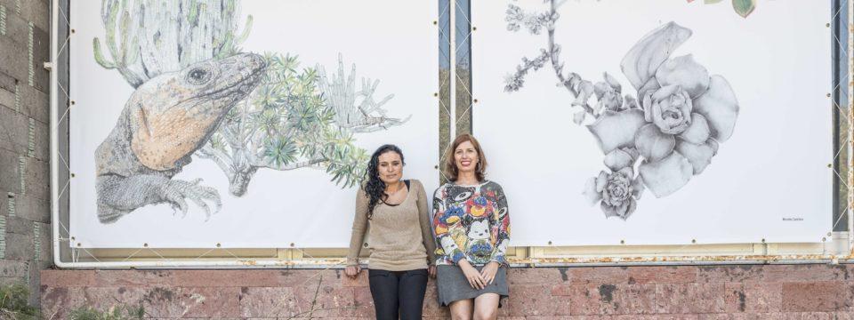 El arte le da la mano a la naturaleza a través del trazo de dos ilustradoras canarias