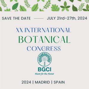 España organizará el X Congreso Internacional de Botánica en 2024 en vez de Brasil